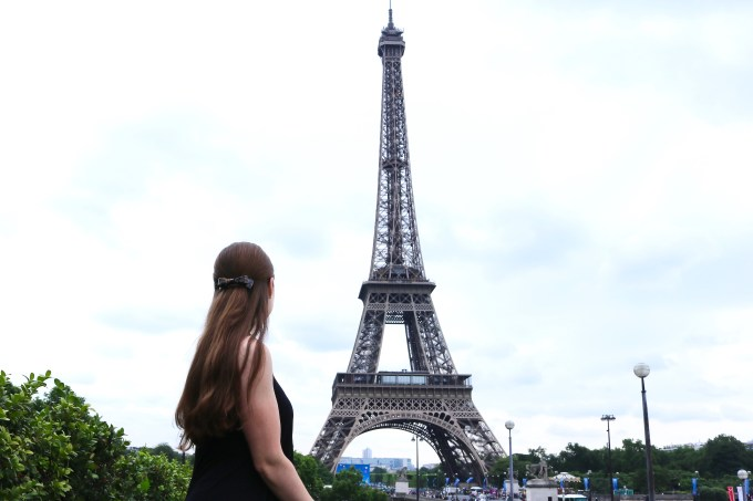 Paris Eiffel Tower 2016 Outfit | Bowtiful Life 3