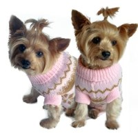 Pink Snowflake Dog Sweater, dog sweaters, big dog clothes ...