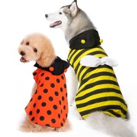 Ladybug Bumble Bee Reversible Dog Costume from BowWowsBest