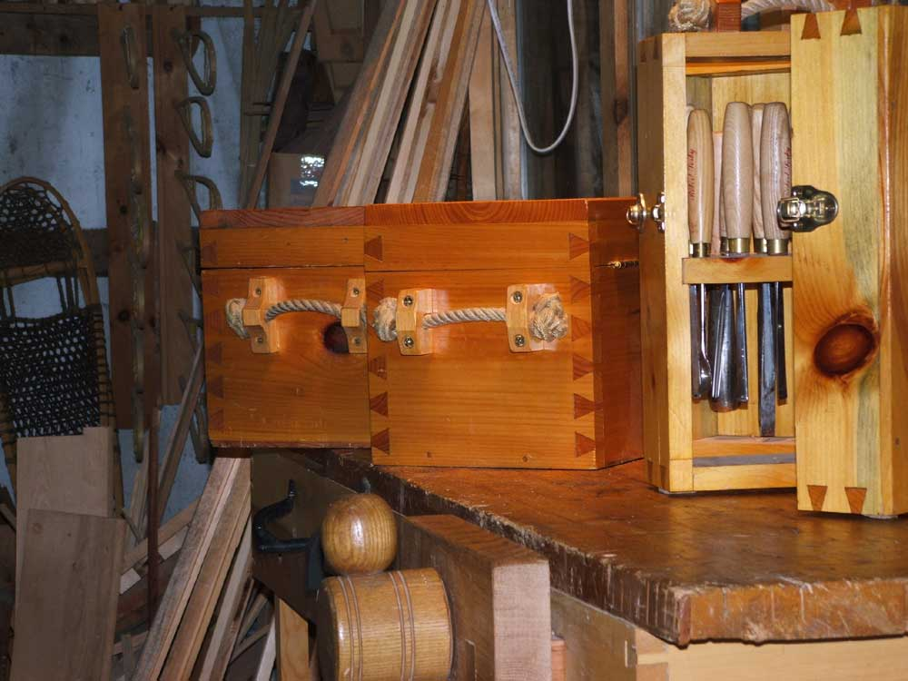 Dovetailed Tool Chests