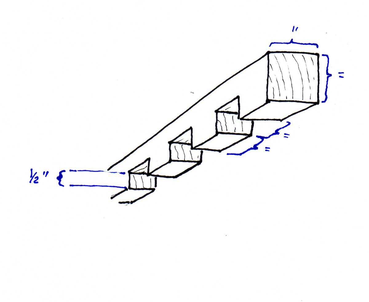 section of grating