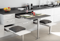 Pull Out Kitchen Table - talentneeds.com