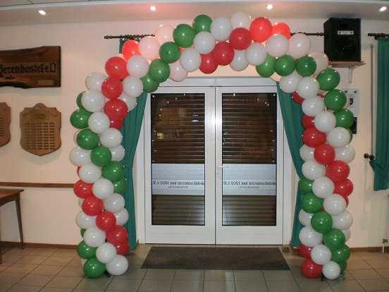 Luftballons im Luftballon Shop