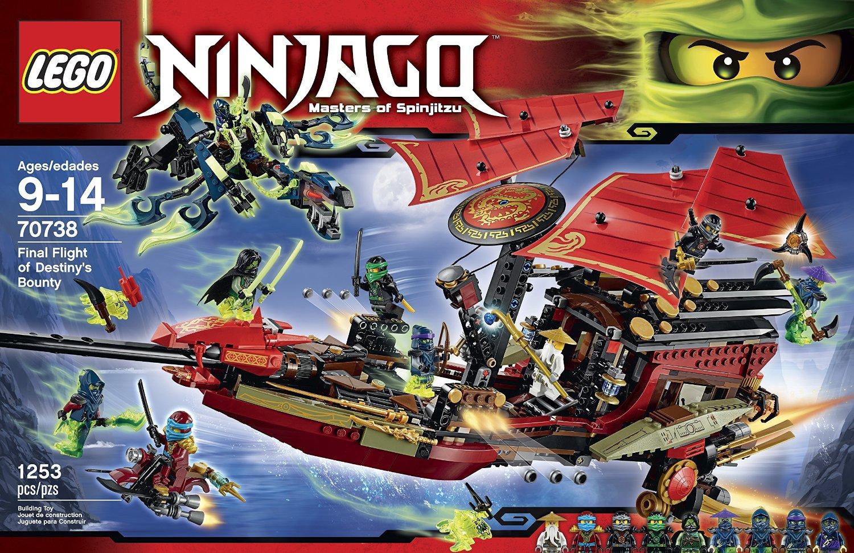 Shopping For Lego Ninjago Final Flight Of Destiny S Bounty
