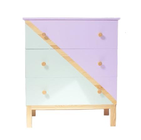 meuble bicolore