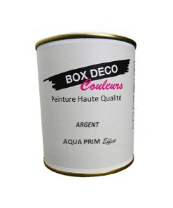 Vernis acrylique Aqua effet argent - Murale - 750 ml