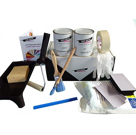 kit peinture or
