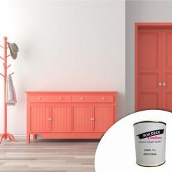 Peinture acrylique pour meuble bois aqua bois, aspect mat,