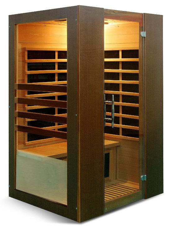 Innovativa Sauna Infrarossi con Pannelli di Carbonio per 2