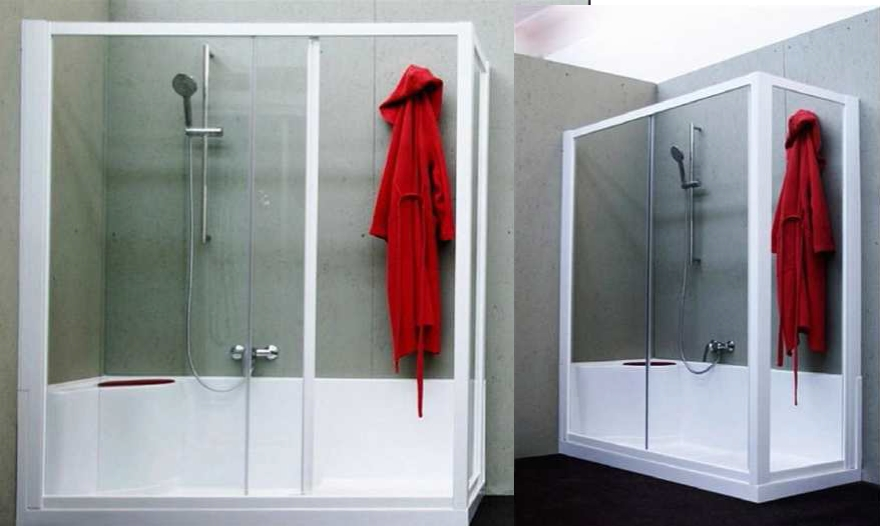 Trasformazione vasca da bagno a box doccia  Box doccia Torino