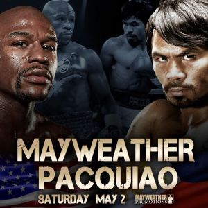 Fight Poster Mayweather vs. Pacquiao