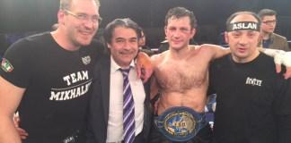 Mikhalkin verteidigte den EM-Titel mit starkem Knockout