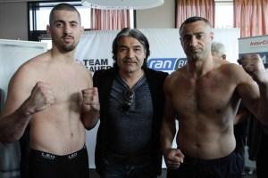Nikola Milacic gegen Zahit Uzunkaya - Wiegen