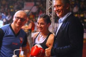 SES-Promoter Ulf Steinforth und ehemalige Welt- und Europameister Lukas Konecny