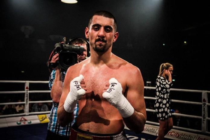 Nikola Milacic / Foto: EC Boxing