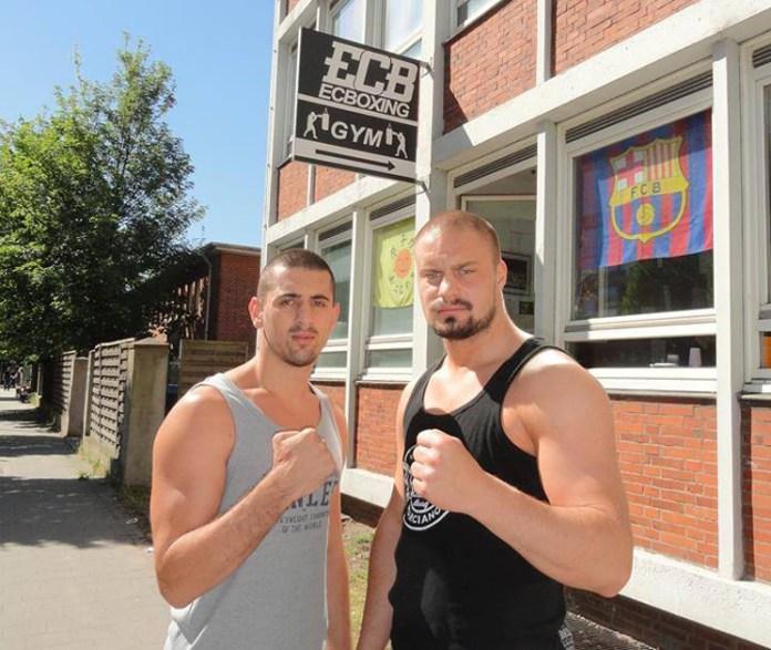 Adrian Granat und Nikola Milacic
