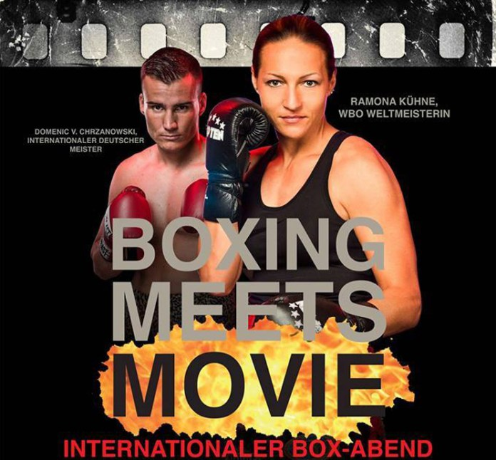 """BOXING MEETS MOVIE"" Boxveranstaltung"