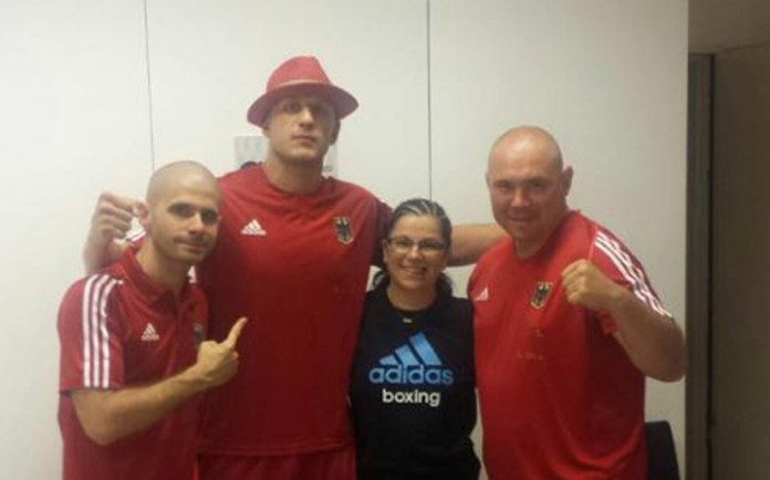 David Graf und sein Team