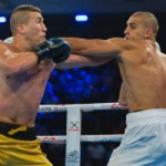 Serge Michel gewann gegen den Algerier Benchabla