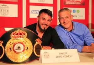 Timur Dugazaev und Ulf Steinforth