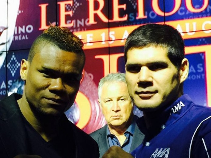 """Eleider """"Storm"""" Alvarez gegen Isidro Ranoni Prieto"""