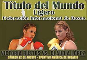 Victoria Noelia Bustos gegen Claudia Andrea Lopez