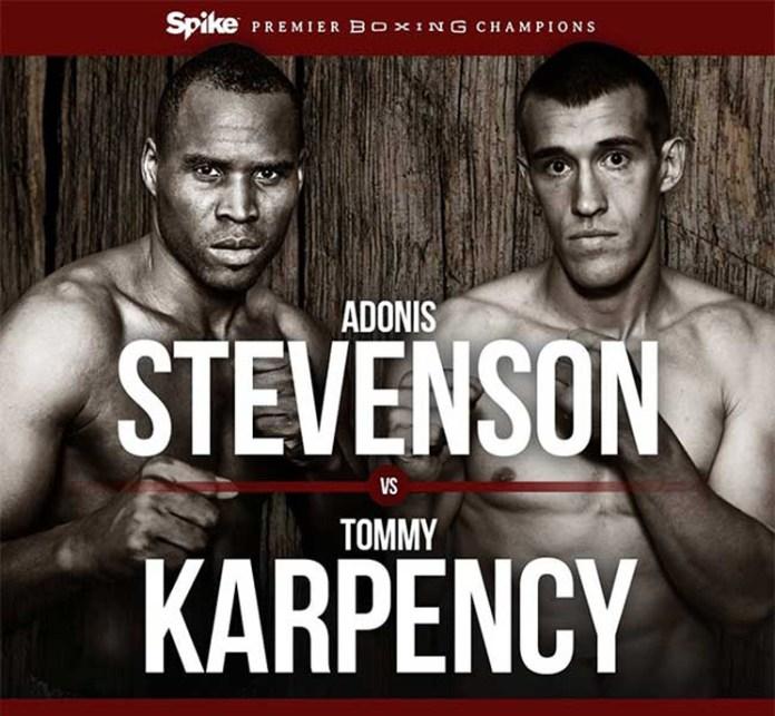 Adonis Stevenson gegen Tommy Karpency