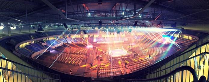 EnergieVerbund Arena - Ergebnisse Dresden / Foto: Sebastian Heger