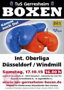Oberliga-Boxen Plakat