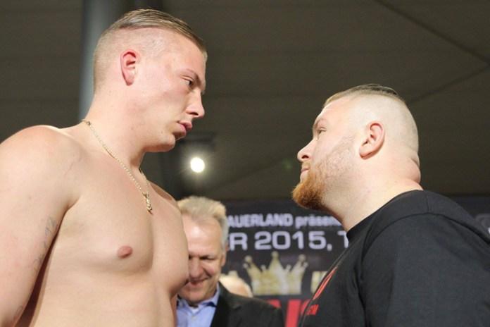 Alexander Hofmann vs. Guerkan Basak-Wiegen / Foto: Sebastian Heger