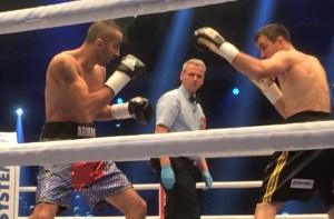 Eduard Gutknecht trifft im Super-Mittelgewicht auf Arman Torosyan / Foto: Sebastian Heger
