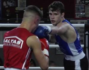 Nikitin Leinweber / Foto: Boxring Hanau