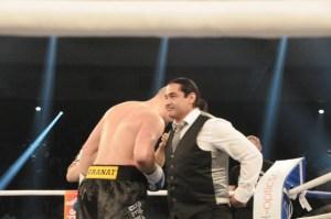 Adrian Granat und Erol Ceylan / Foto: EC Boxing