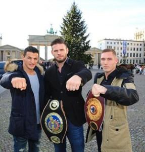 Robin Krasniqi, Michael Wallisch und Jan Meiser / Foto: SES Team - P. Gerke