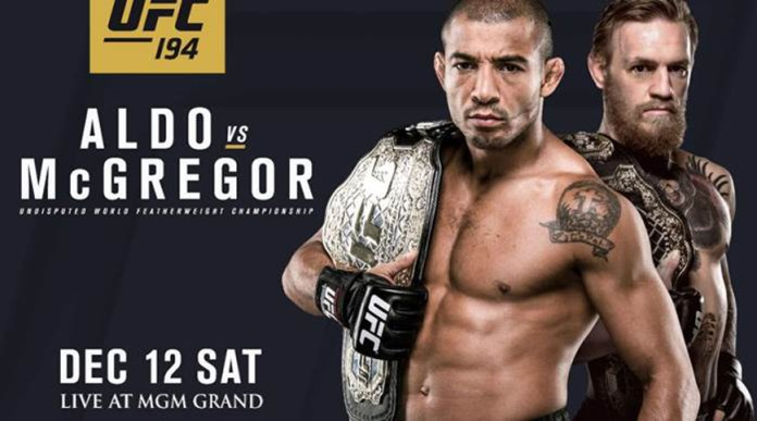 UFC 194 – José Aldo vs. Conor McGregor