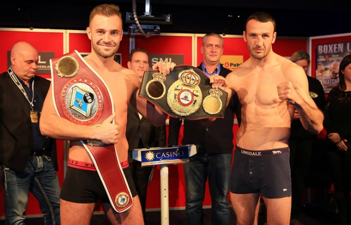 Dominic Bösel gegen Balazs Kelemen / Foto: SES Team - P. Gercke