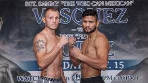 Sammy Vasquez gegen Aaron Martinez