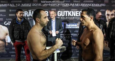 Ismail Özen vs. Aleksandar Kuvac / Foto: Sebastian Heger