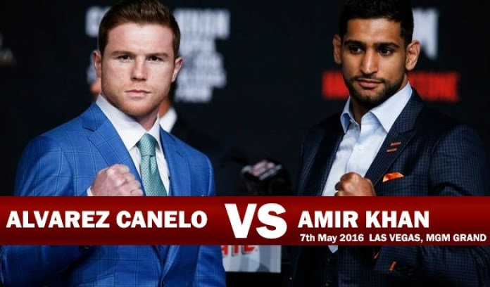 Canelo Alvarez gegen Amir Khan