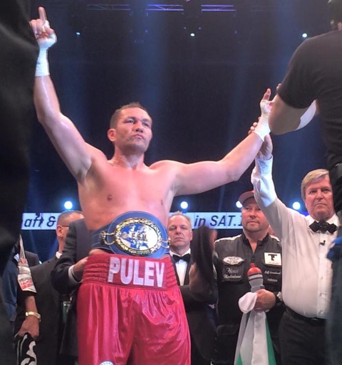 Neuer Europameister im Schwergewicht: Kubrat Pulev! / Foto: Sebastian Heger