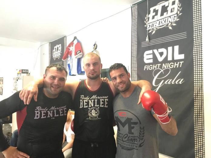 Christian Hammer, Adrian Granat und Manuel Charr