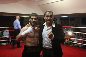 Fatih Keles und Erol Ceylan / Foto: EC Boxing