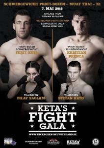 Keta`s Fight Gala am 7. Mai