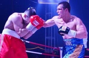 "Angelo ""Europa"" Frank vs. Andreas Reimer / Foto: EC Boxing"