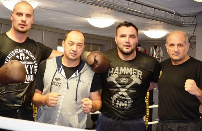 Adrian Granat, Christian Hammer, Bülent Baser und Felix Paun