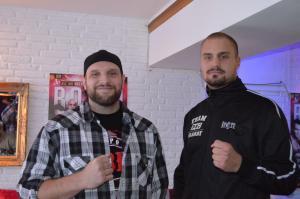 Franz Rill und Adrian Granat