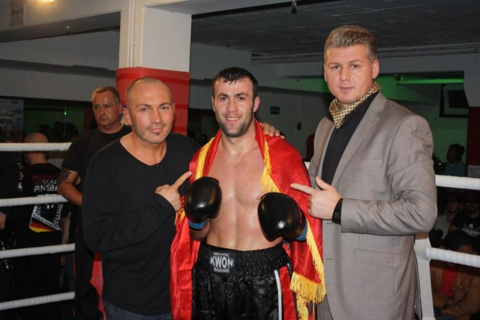 K1 Fight Night in Nürnberg - Panarino