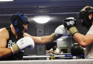 Hammer - Tereshkin / Foto: EC Boxing