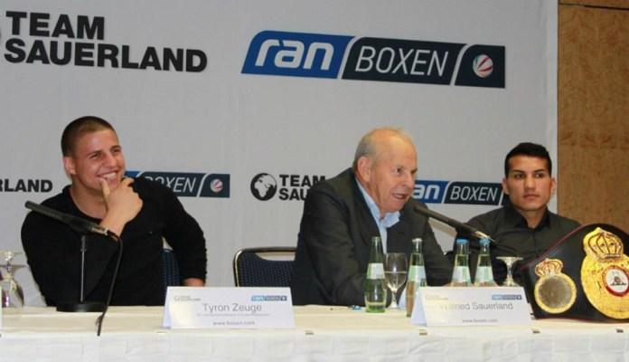 Tyron Zeuge, Wilfried Sauerland und Jack Culcay / Fotograf: Sebastian Heger