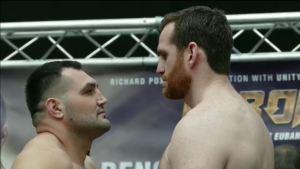 Hammer vs. Price / Foto: EC Boxing